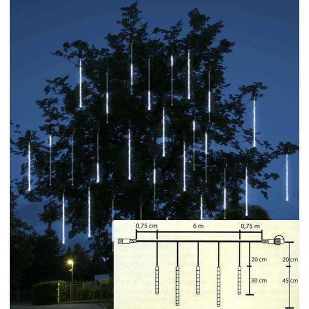 Snow Motion LED Extra Lichterkette 5 Tubes 136er koppelbar 001-32
