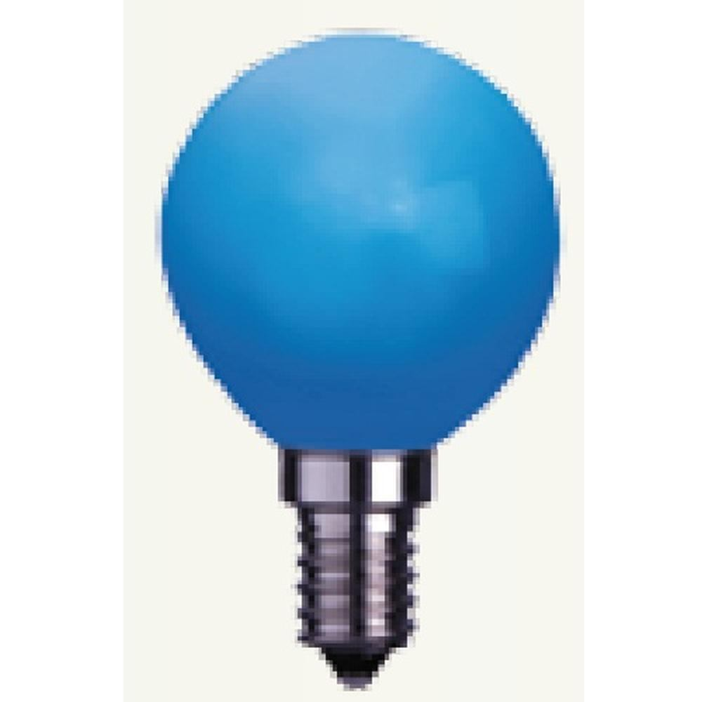 Decoration LED Glühbirne Leuchtmittel E14 230V blau 336-49