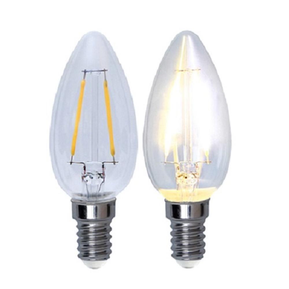 Illumination LED Filament E14 230V 210lm 2W 2700K 352-01 Glühbirne