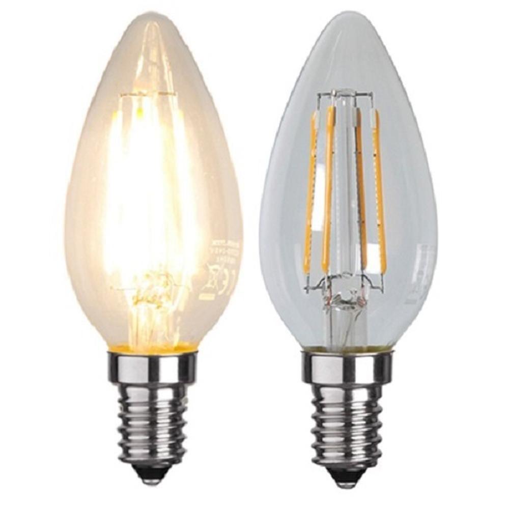 Illumination LED Filament E14 230V 320lm 4W 2700K 352-02 Glühbirne