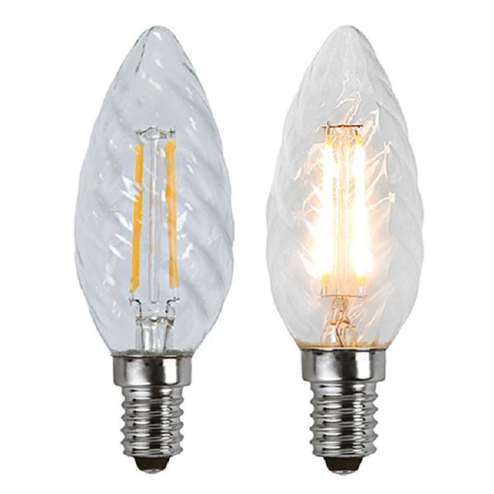 Illumination LED Filament E14 230V 180lm 1,8W 2700K 352-05 Glühbirne