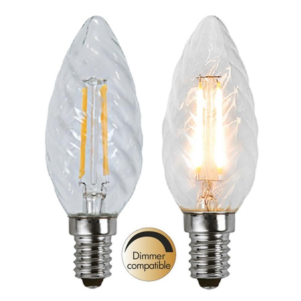 Illumination LED Filament E14 230V 400lm 3,2W 2700K dimmbar 352-06 Glühbirne