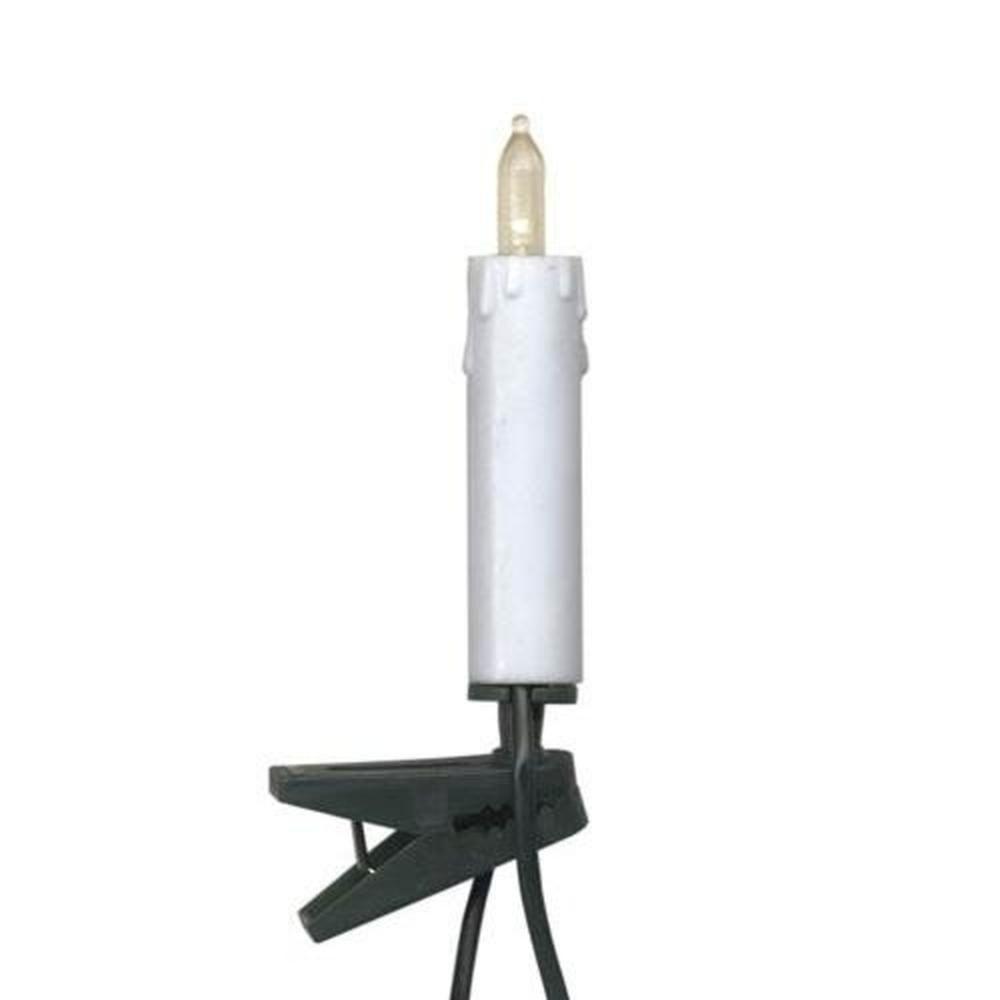 LED Weihnachtsbaumbeleuchtung warmweiss 20er weiss innen 402-98