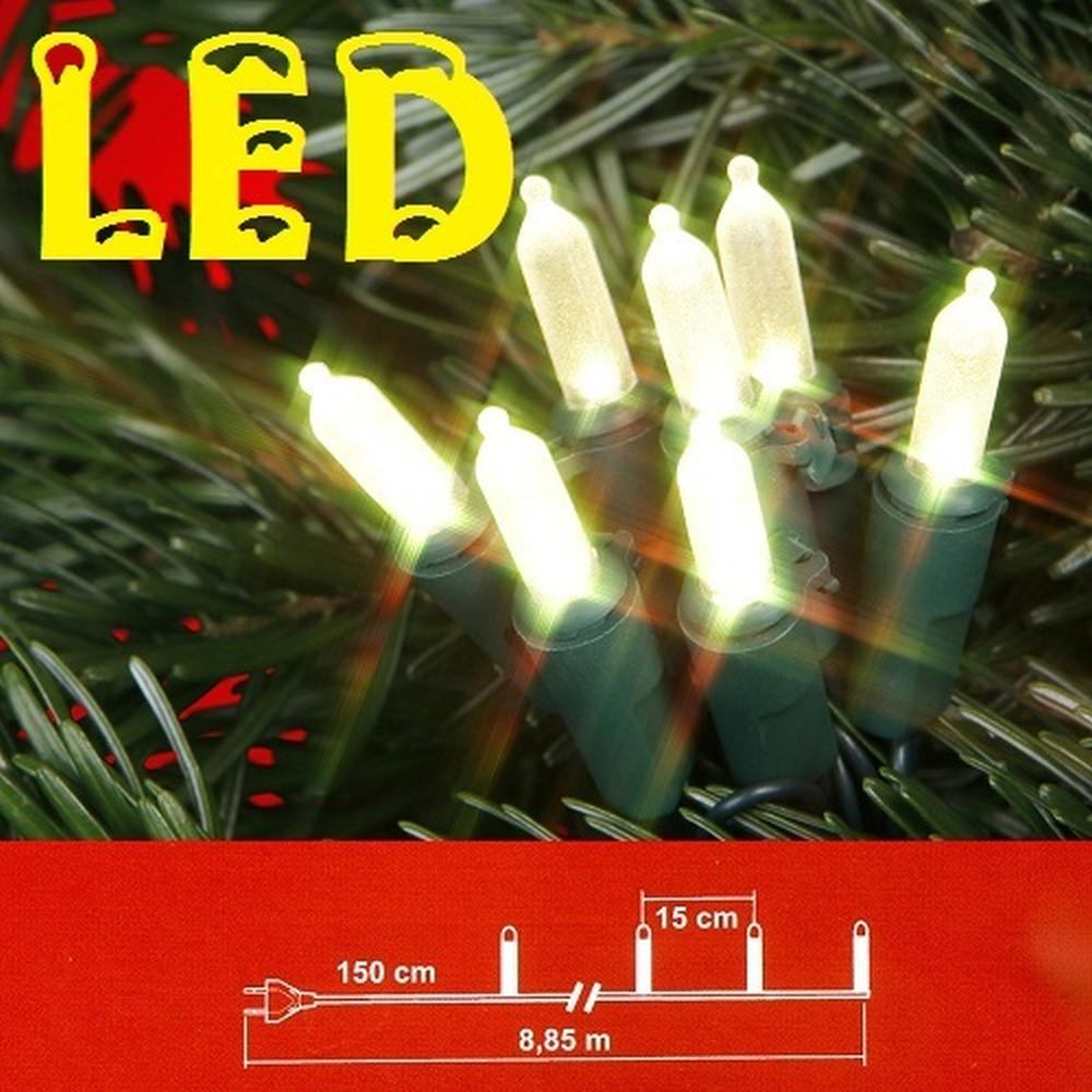 led mini lichterkette 50er warmweiss gr nes kabel best season 423 00 ebay. Black Bedroom Furniture Sets. Home Design Ideas