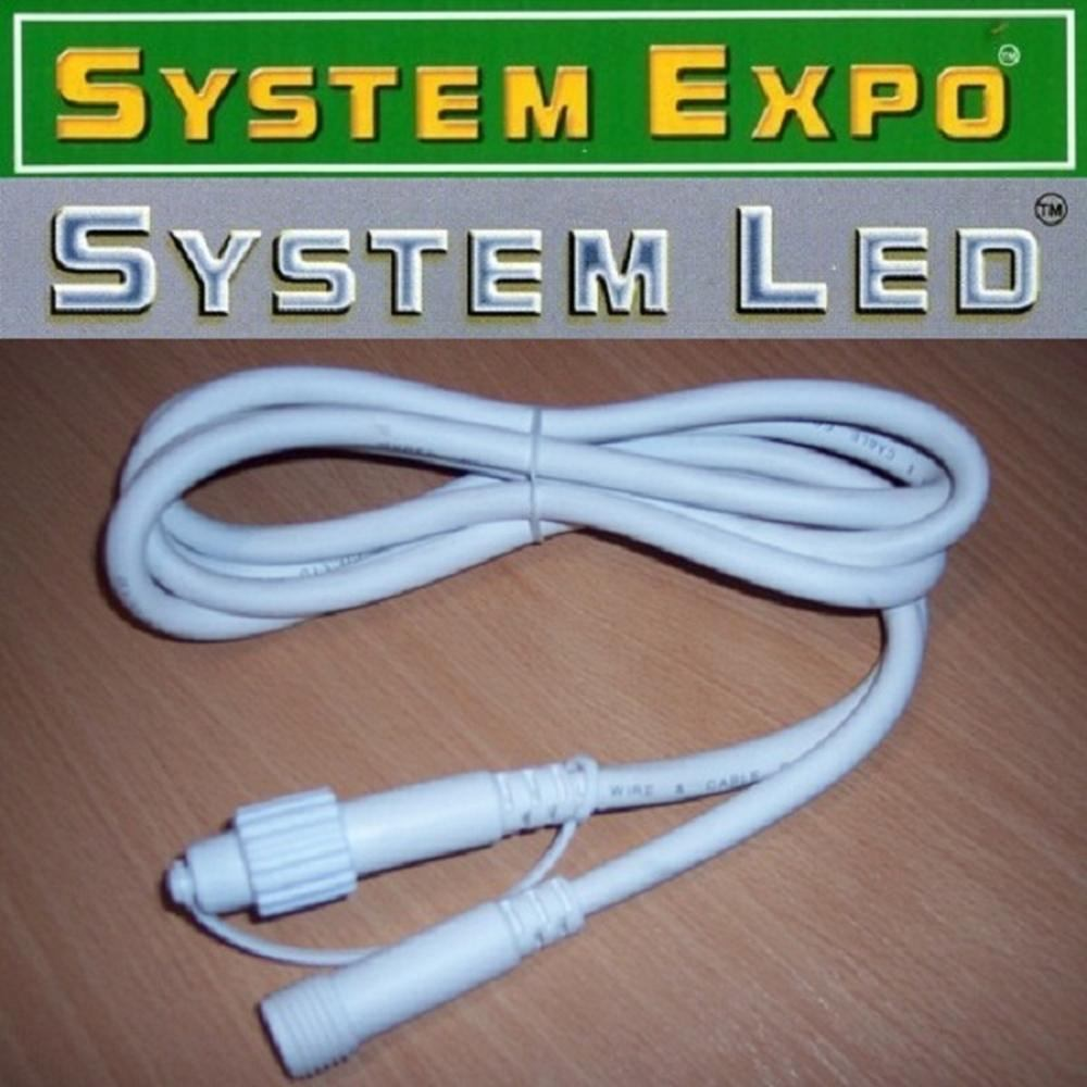 System Expo / System LED Verlängerungskabel 2m weiss 466-26-02