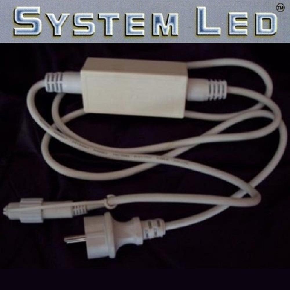 System LED Startkabel weiß 1,8m 466-28