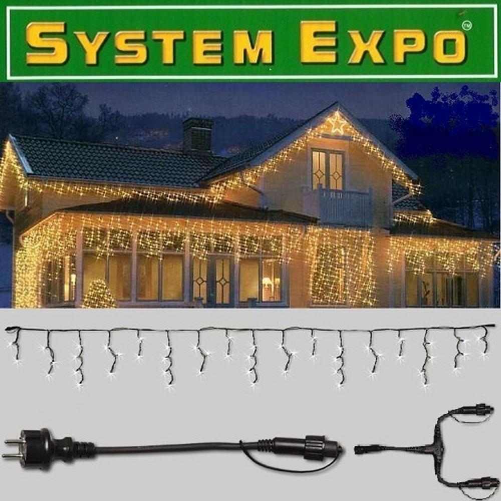 System Expo Eisregen Icicle im Set   Startkabel 48m 484-30 / 484-25