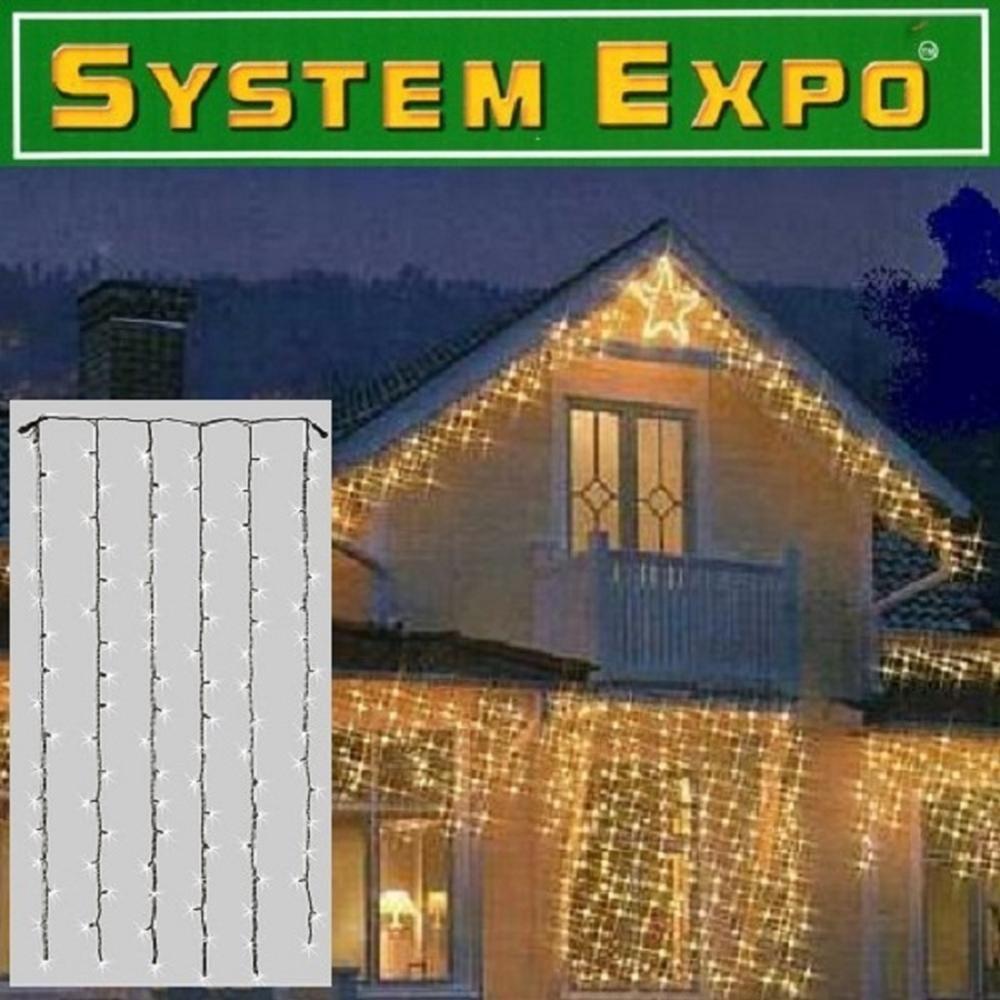 System Expo Lichtervorhang-Extra 102er klar 1x2m Best Season 484-32