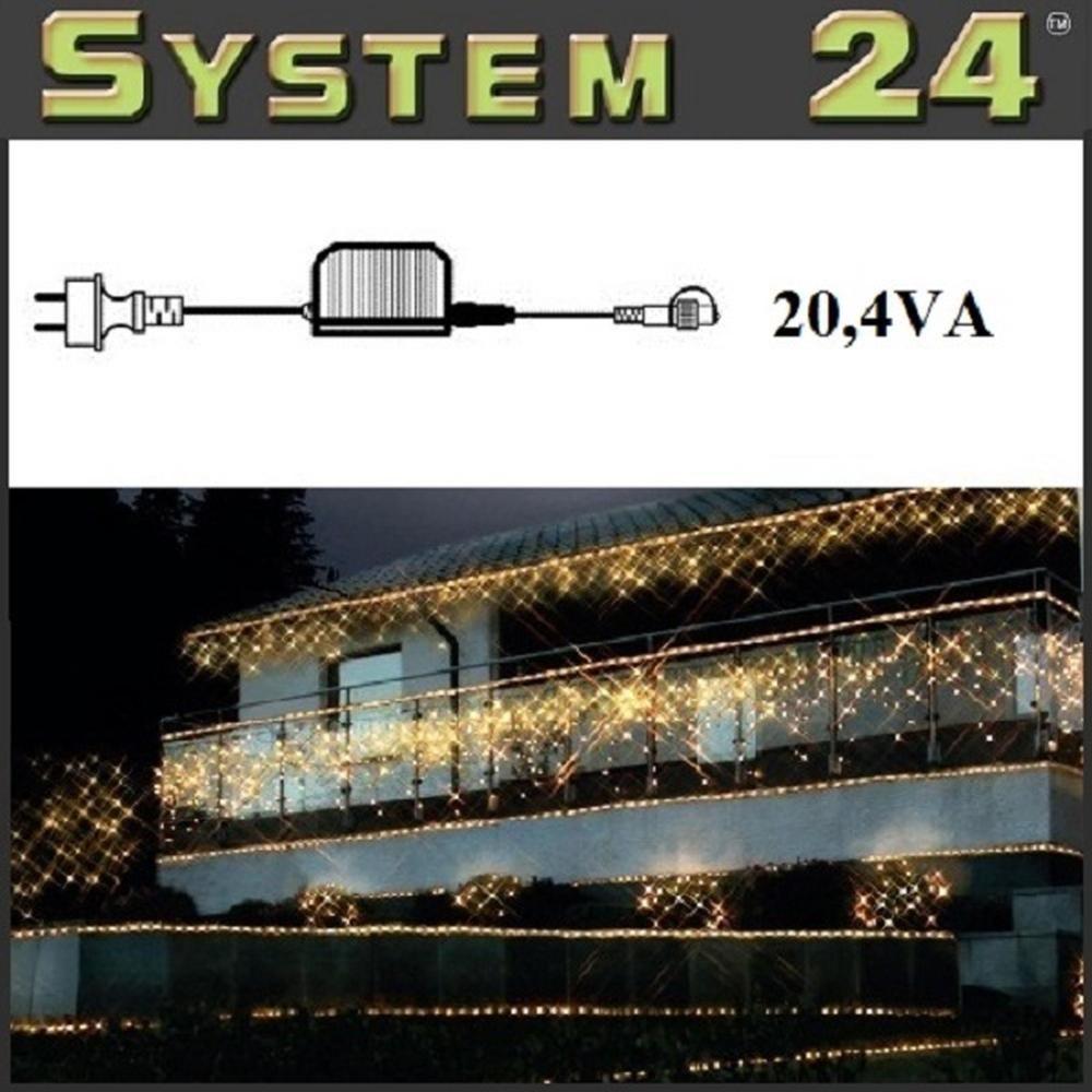 System 24 LED Trafo 20,4 VA - Start Max. 1500 Dioden 490-00 außen