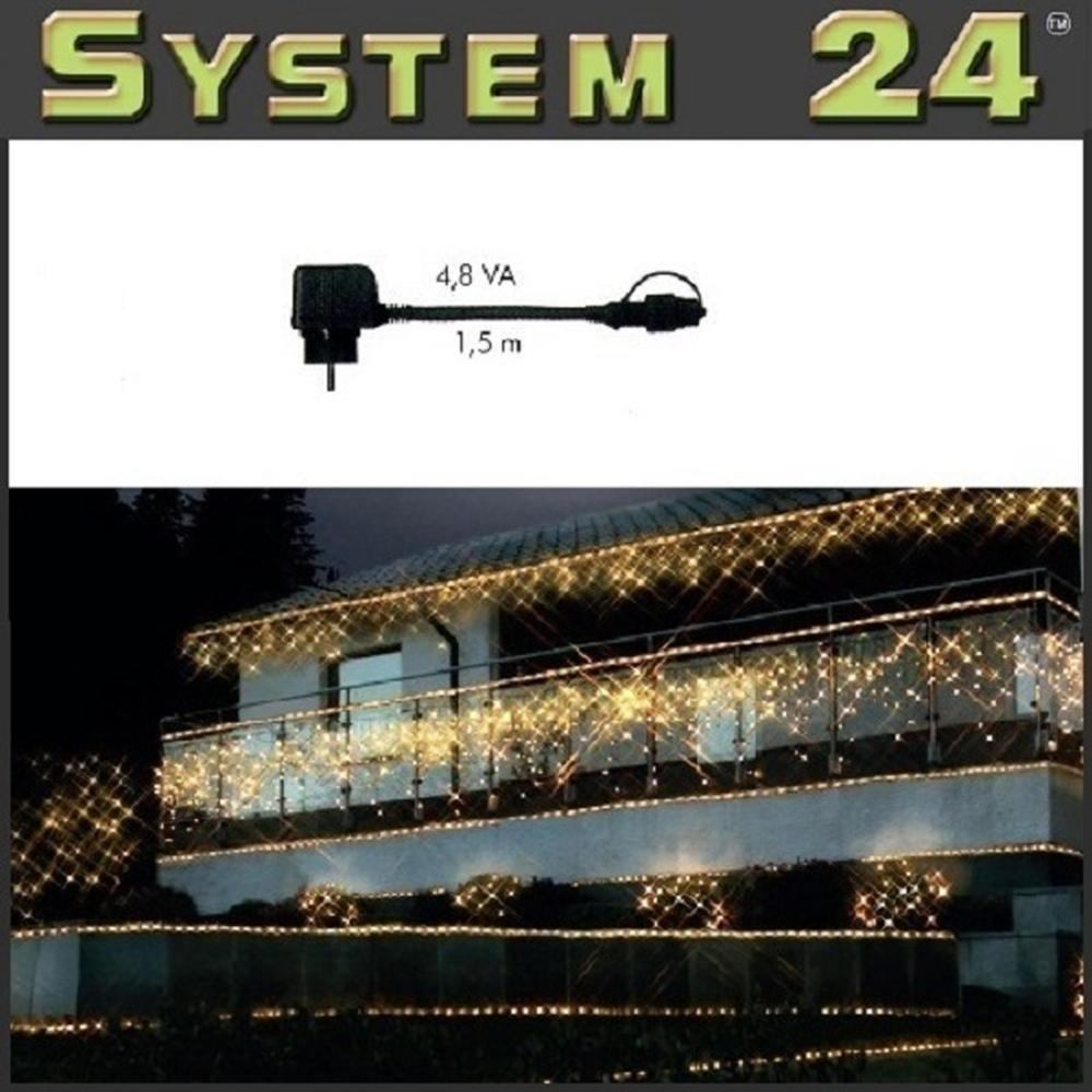 System 24 LED Trafo 4,8 VA - Start Max. 350 Dioden 490-02