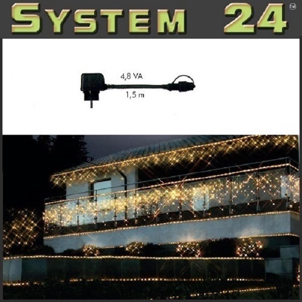 System 24 LED Trafo 4,8 VA - Start Max. 350 Dioden 490-02 außen