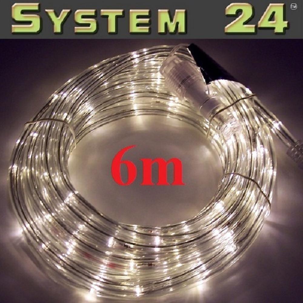 System 24 LED Lichtschlauch 6m extra warmweiß 491-33 außen