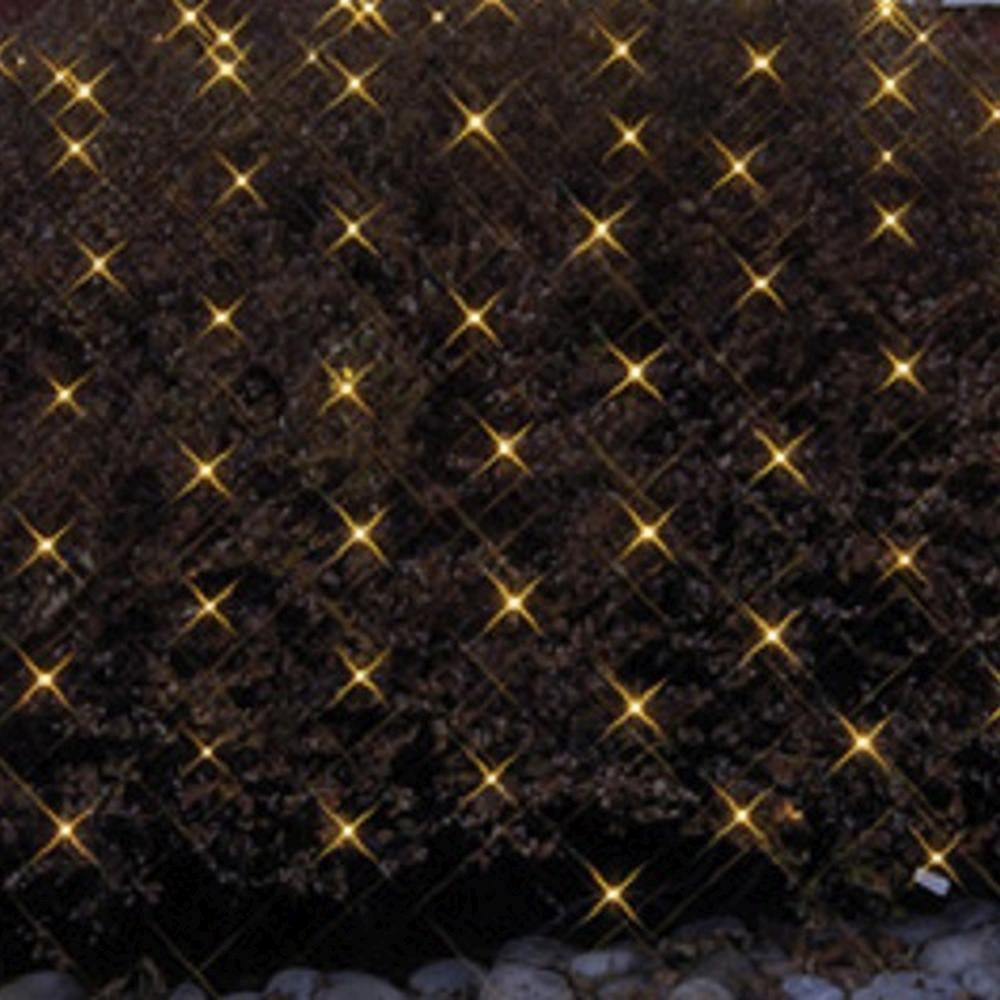 LED Lichternetz 3x3m 180er warmweiß Kabel schwarz Best Season 498-76