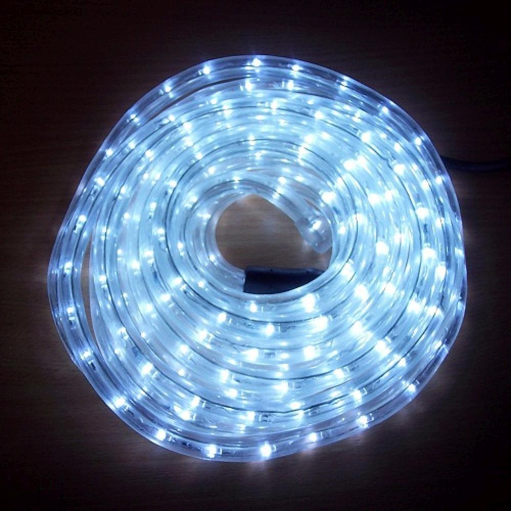 LED Lichtschlauch Lichterschlauch Superflex 6m cool light 13mm 556-01 außen
