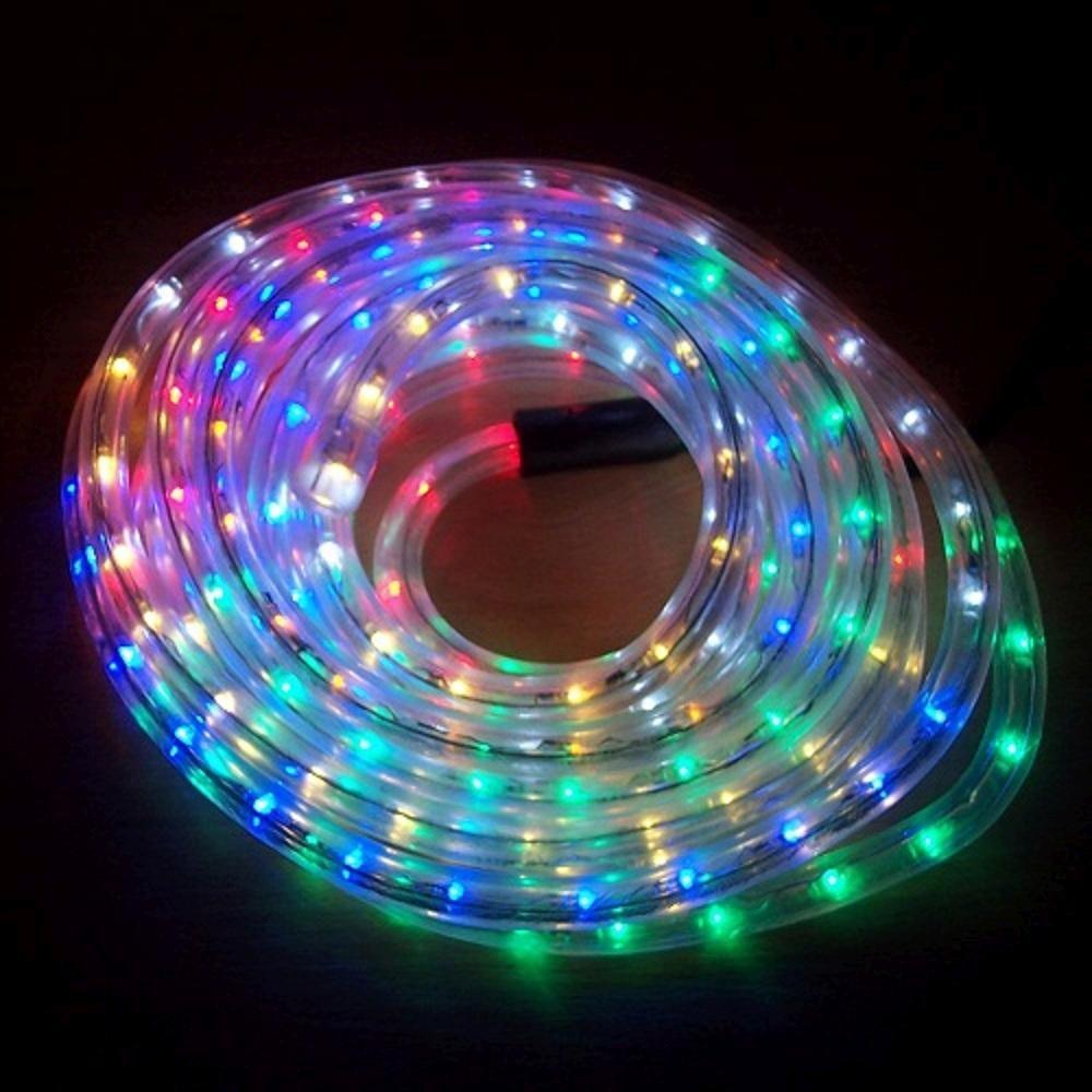 LED Lichtschlauch Lichterschlauch Superflex 6m bunt 13mm 556-02 außen