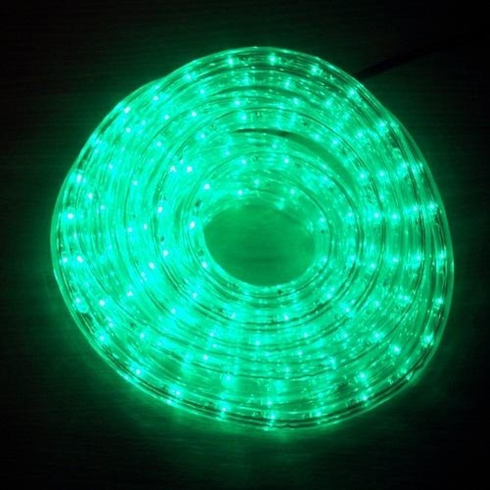 LED Lichtschlauch Lichterschlauch Superflex 6m grün 13mm 556-03 außen