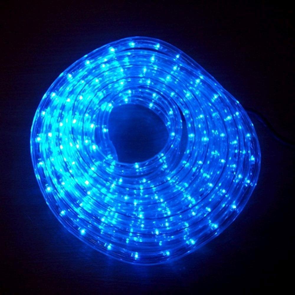 LED Lichtschlauch Lichterschlauch Superflex 6m blau 13mm 556-09 außen