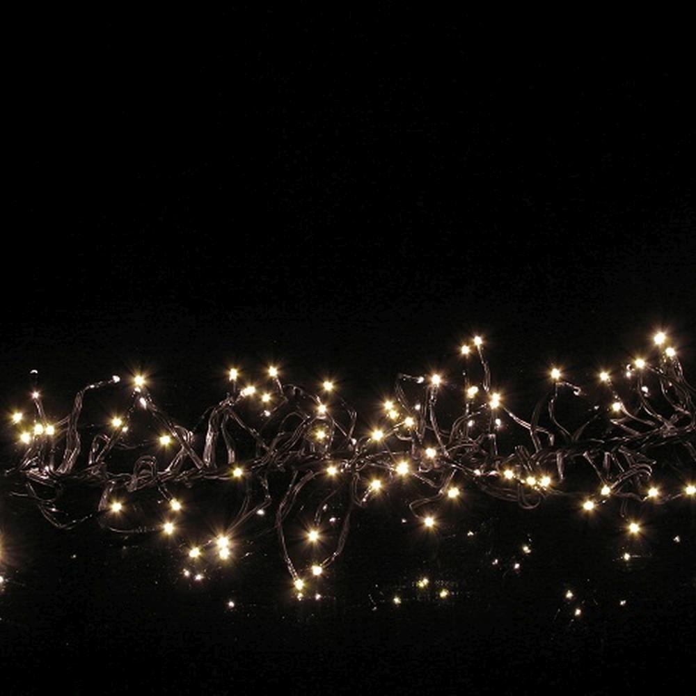 Micro Black Lichterkette Girlande 384er 2m warmweiß außen 590-60