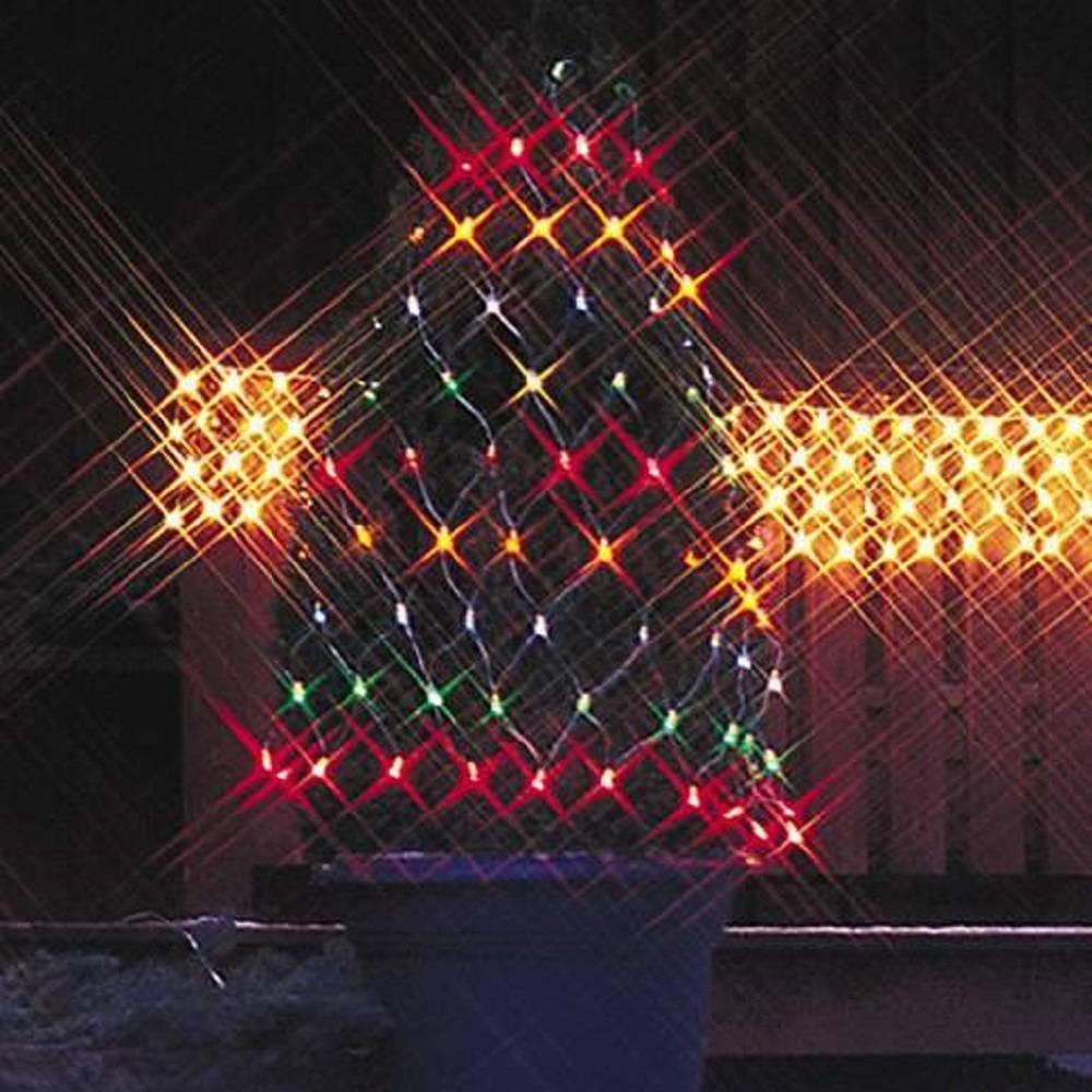Lichternetz Lichtnetz 2x1m 160 Micro-Bulbs bunt 591-80