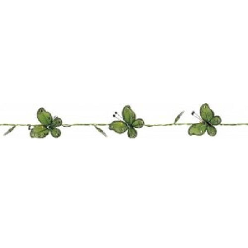 LED Lichterkette 16er Schmetterlinge grün Best Season 726-12
