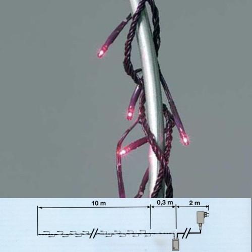 Lichterkette 176er Micro-Bulbs Fuchsia 8 Funktionen 1176F