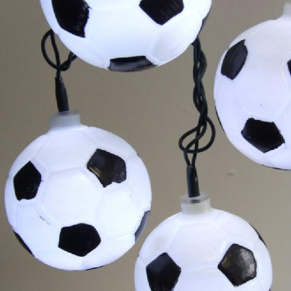 LED Fußball Party-Lichterkette 20er 4,75m außen FHS 08598