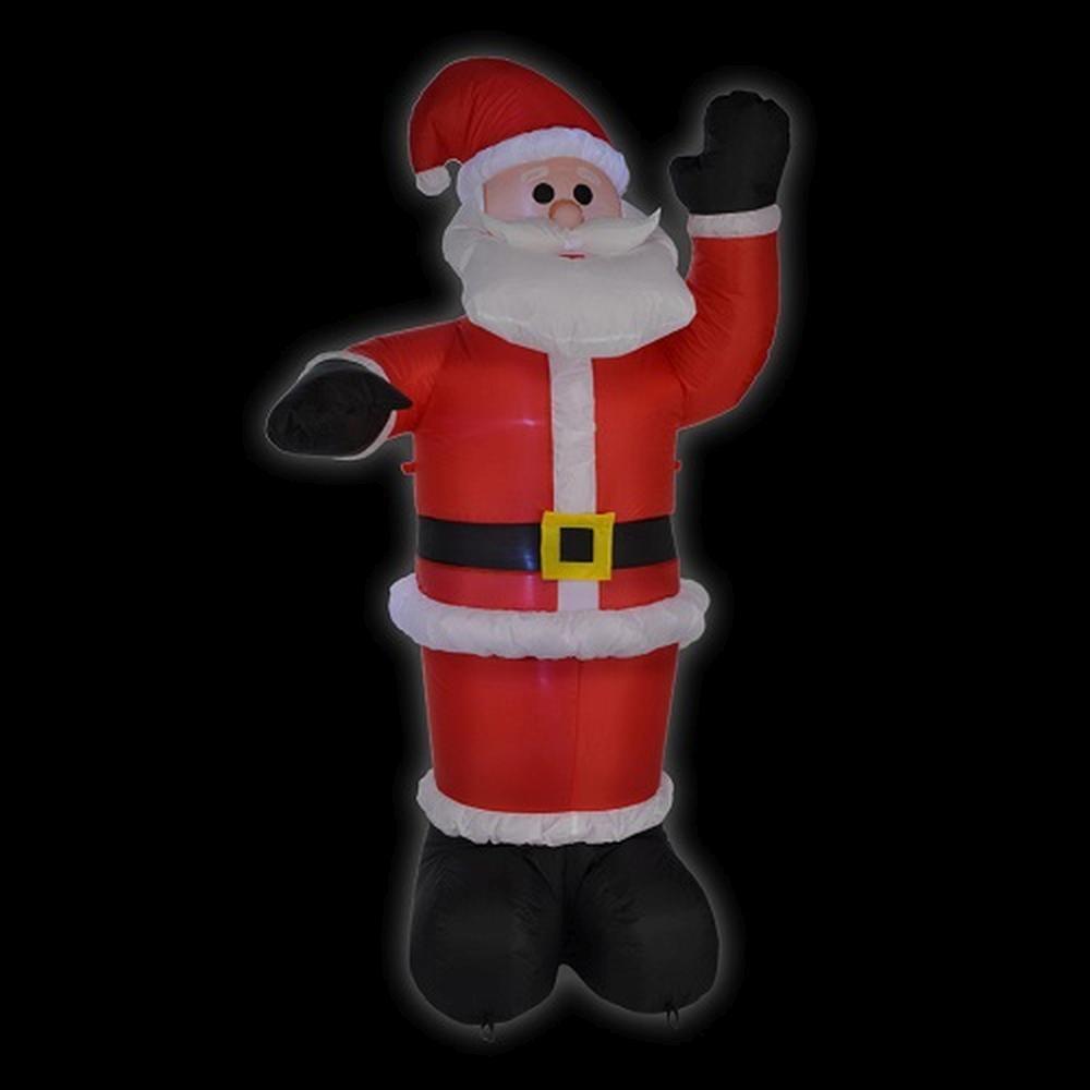 LED Air-Blown Weihnachtsmann 1,8m selbstaufblasend aussen HI 54113