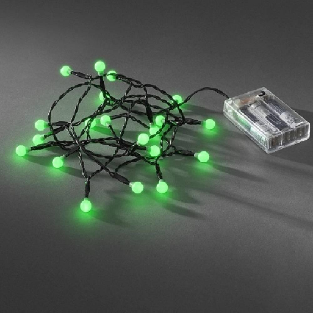 led globe lichterkette 20er batterie timer innen rot 1491 557. Black Bedroom Furniture Sets. Home Design Ideas