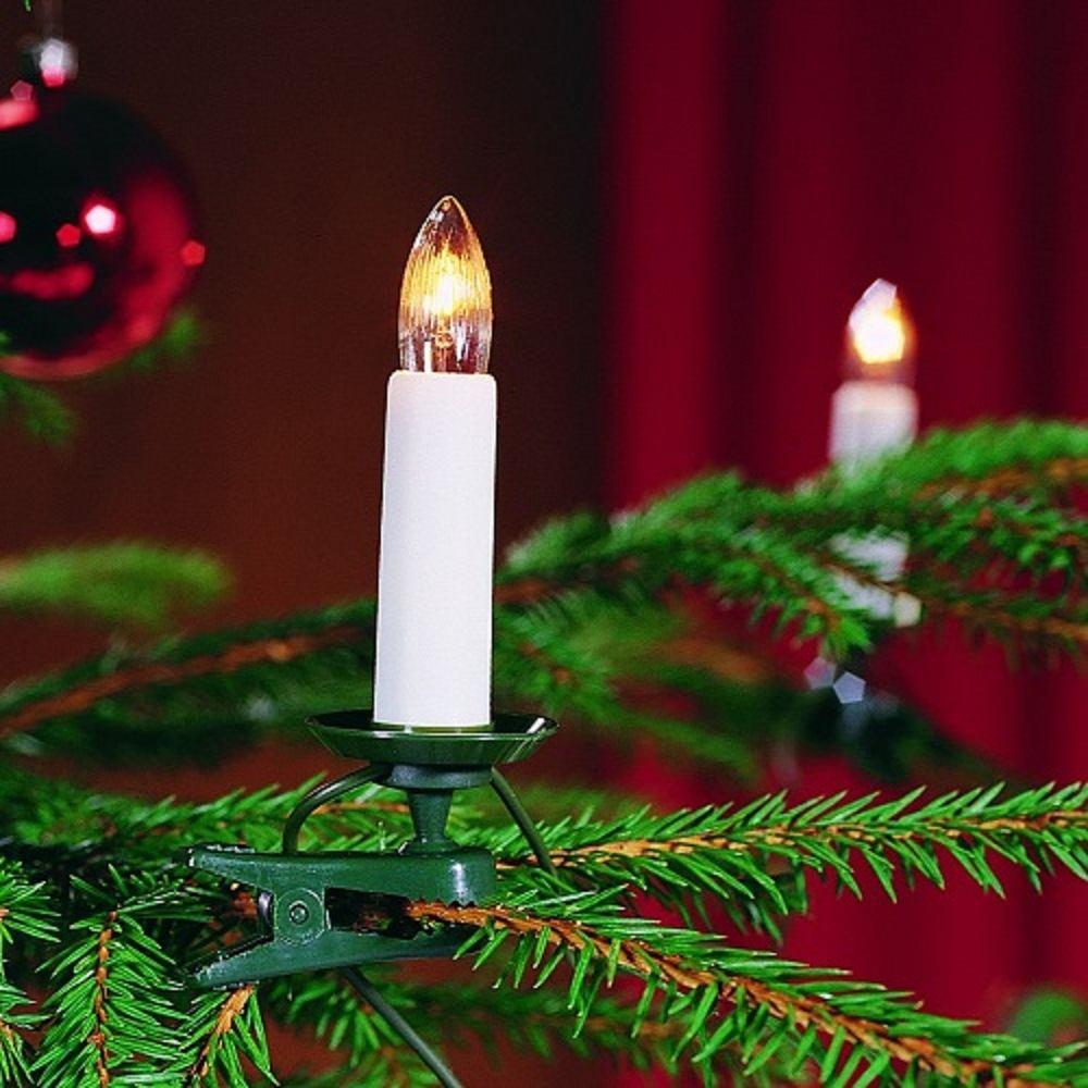 Weihnachtsbaumbeleuchtung 25er weiss teilbarer Stecker 2032-000