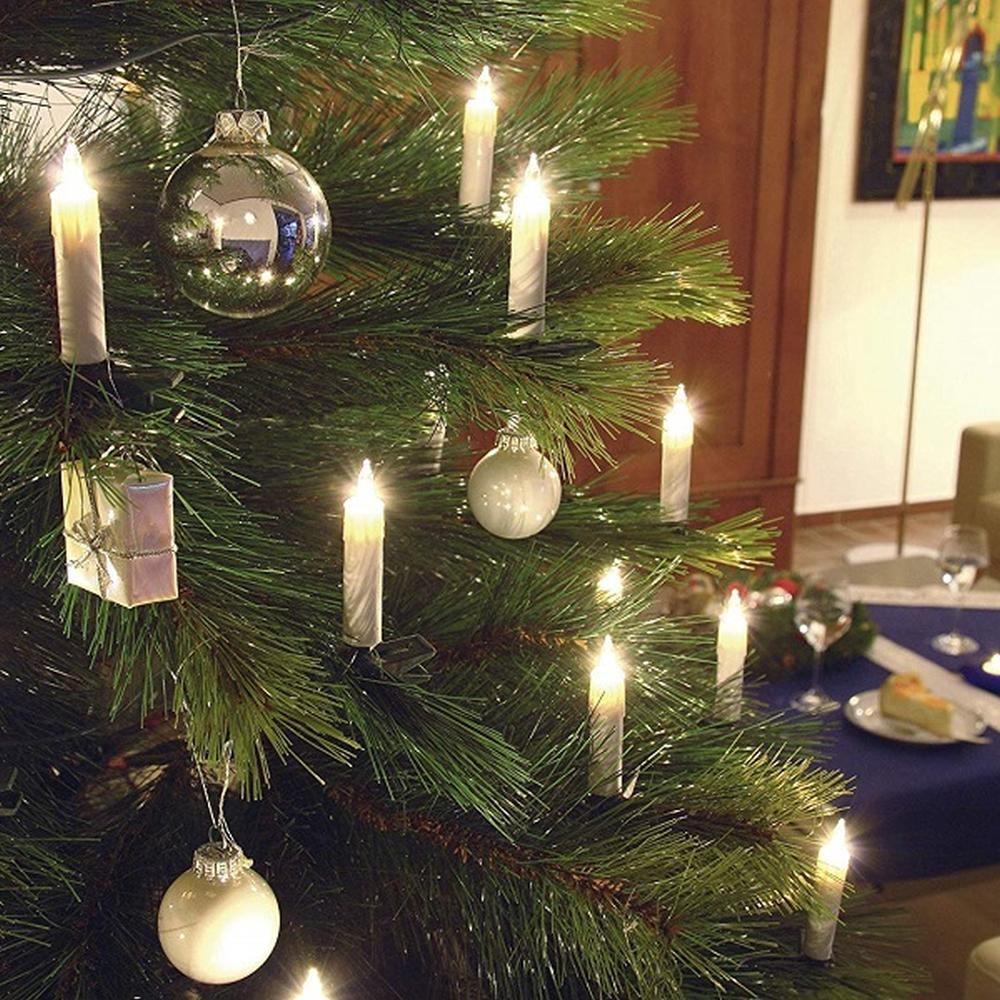 Steckbirnen Für Weihnachtsbeleuchtung.Weihnachtsbaumbeleuchtung 40er Klare Steckbirnen Weiß Innen Konstsmide 2039 000