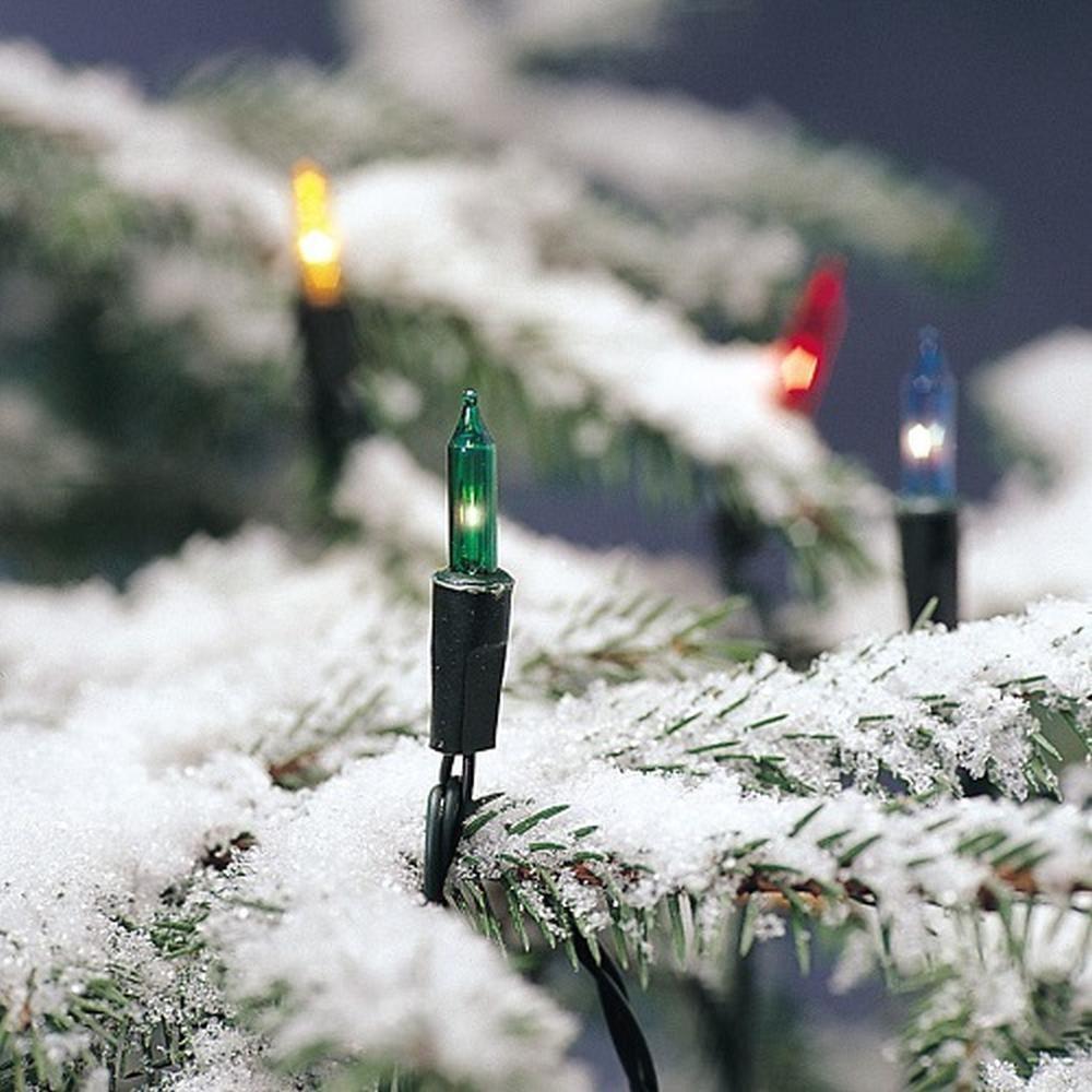 120er Mini-Lichterkette außen bunt 8 Funktionen Konstsmide 2014-500