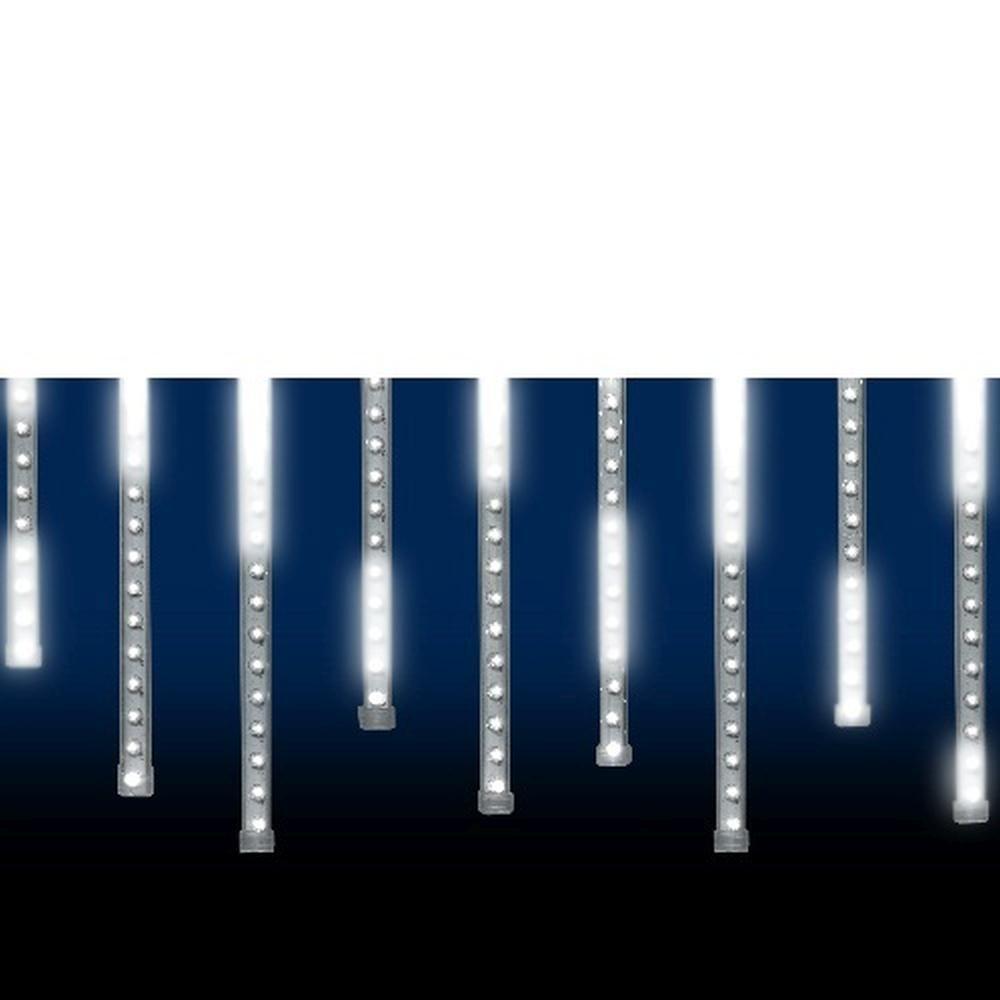 LED Leuchtstäbe Lichtervorhang Schneefalleffekt 60er außen 2765-103