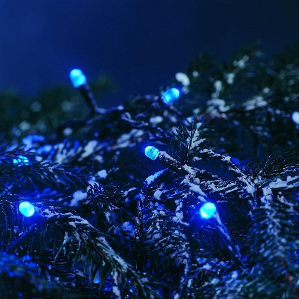 LED Lichterkette 40er blau außen 5,85m Konstsmide 3040-400