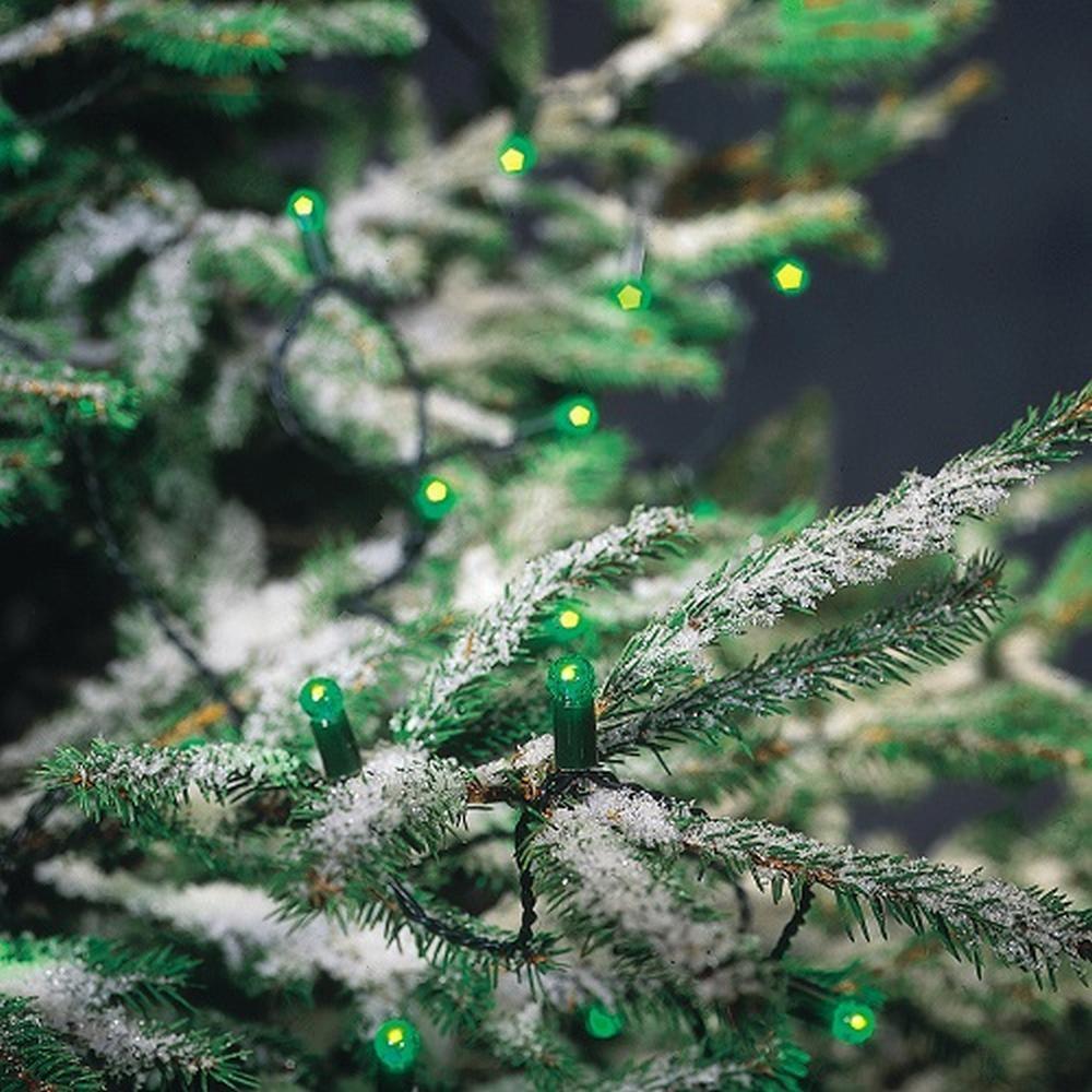 LED Lichterkette 200er grün 17,9m innenKonstsmide 3053-900