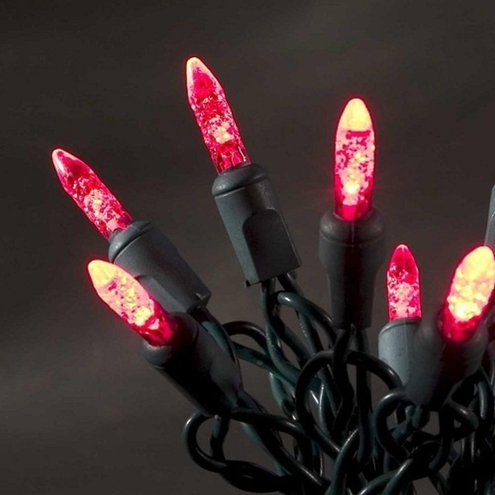 LED Lichterkette innen 2,85m 20 Dioden rot 3601-550