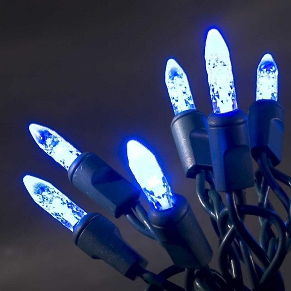 LED Lichterkette innen 5,85m 40er blau Konstsmide 3602-400
