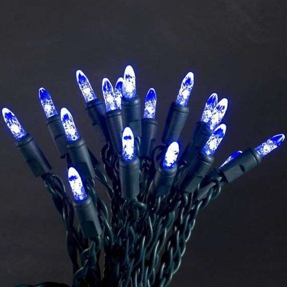 LED Lichterkette innen 5,85m 40er lila / blau Konstsmide 3602-440