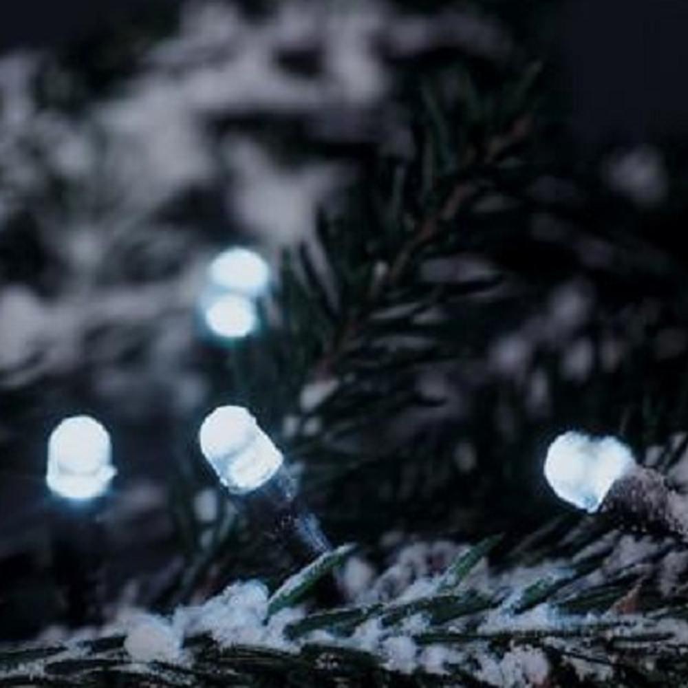 LED Lichterkette 80er 4m kaltweiß Konstsmide 3620-200