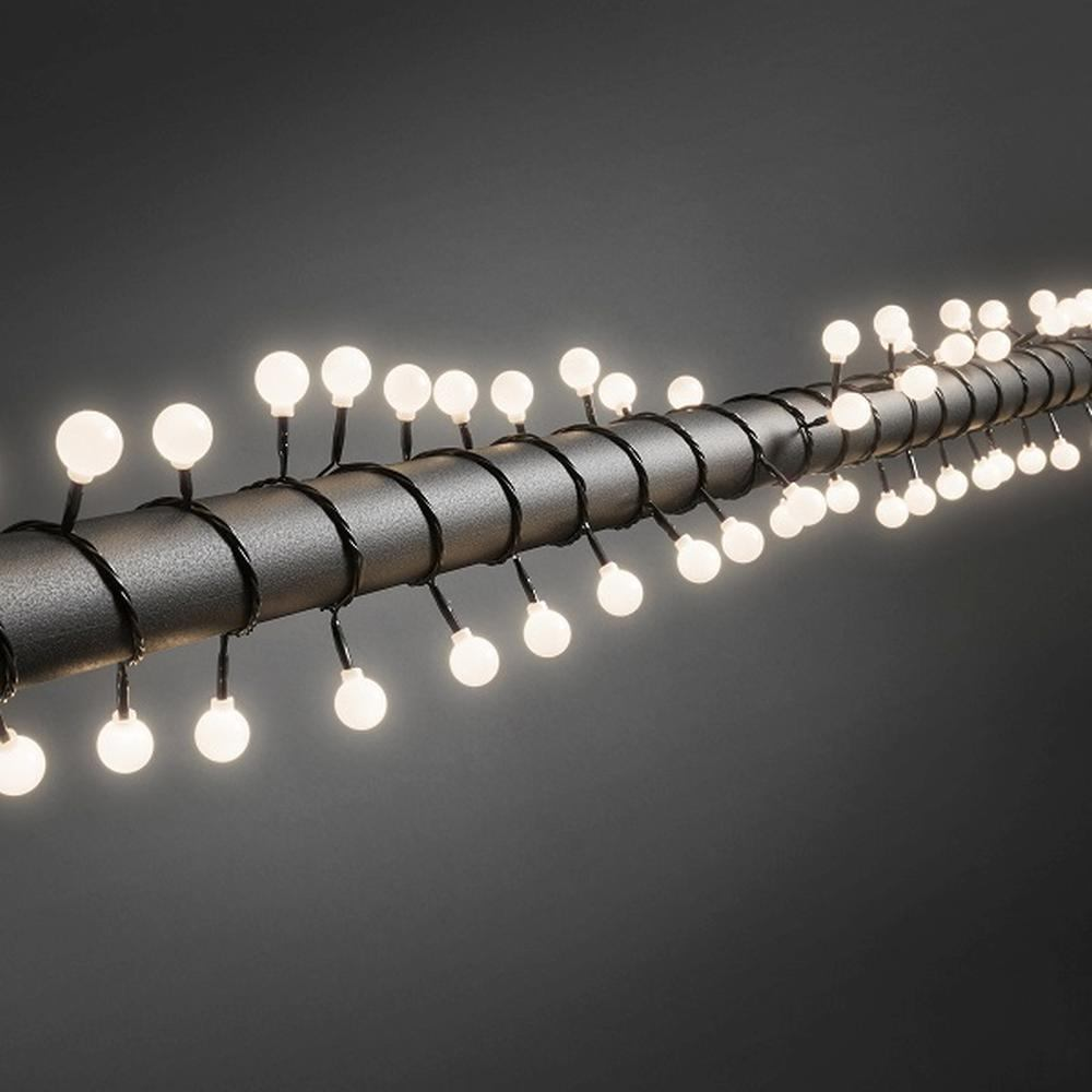 LED Big-Globe-Lichterkette 80er warmweiß aussen Konstsmide 3696-107