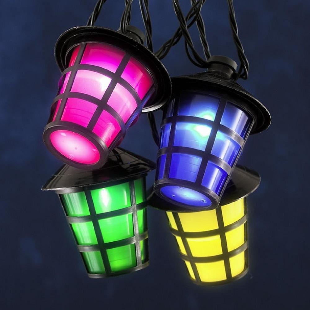 20er LED Party-Lichterkette Laterne Lampion Konstsmide 4162-500