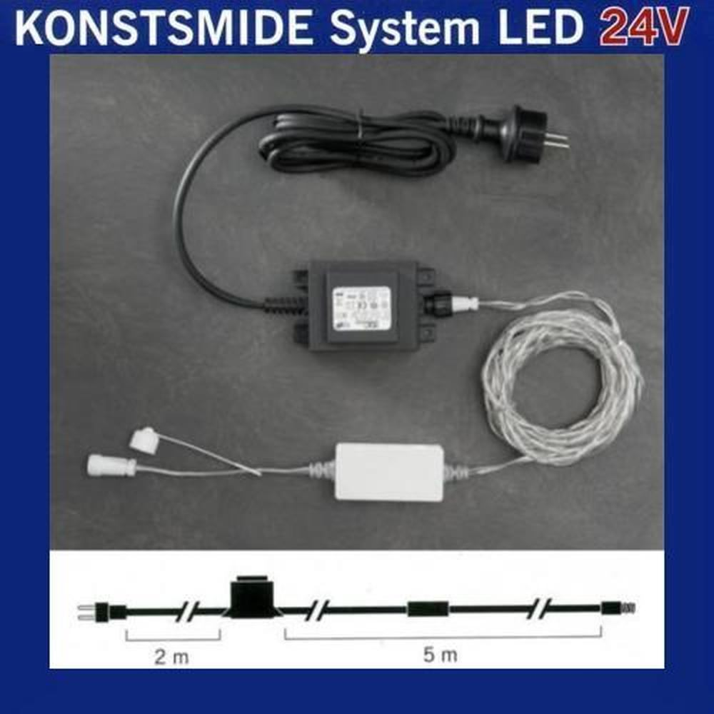 Start Trafo 60VA für Konstsmide 24V Hightech-System 4600-003