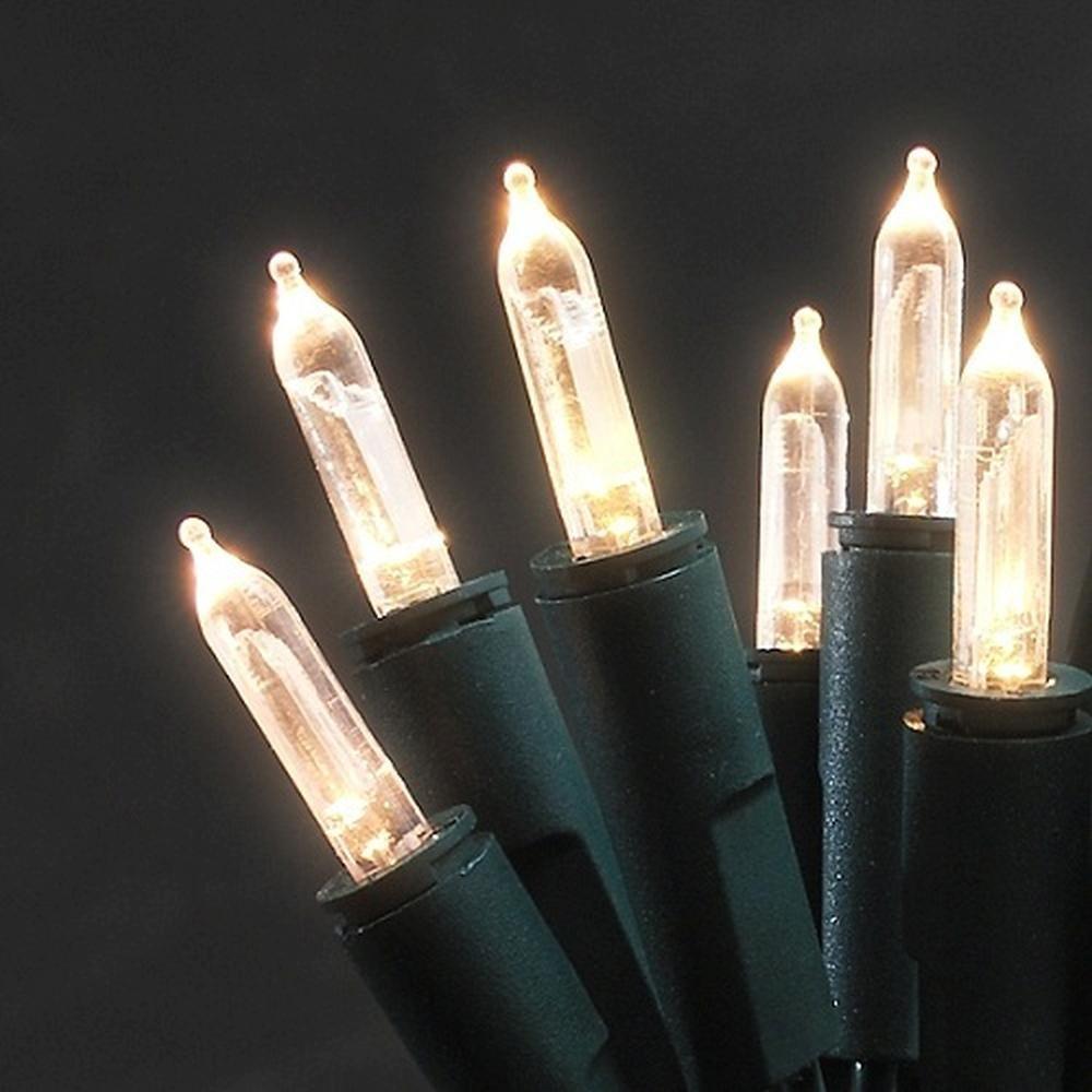 LED Mini-Lichterkette 35er warmweiß 5,10m innen Konstsmide 6302-100