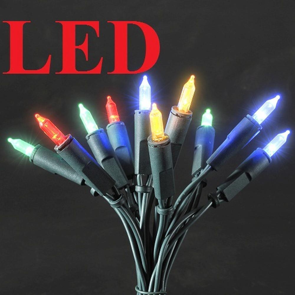 LED Mini-Lichterkette 10er bunt 1,35m Konstsmide 6300-500 innen
