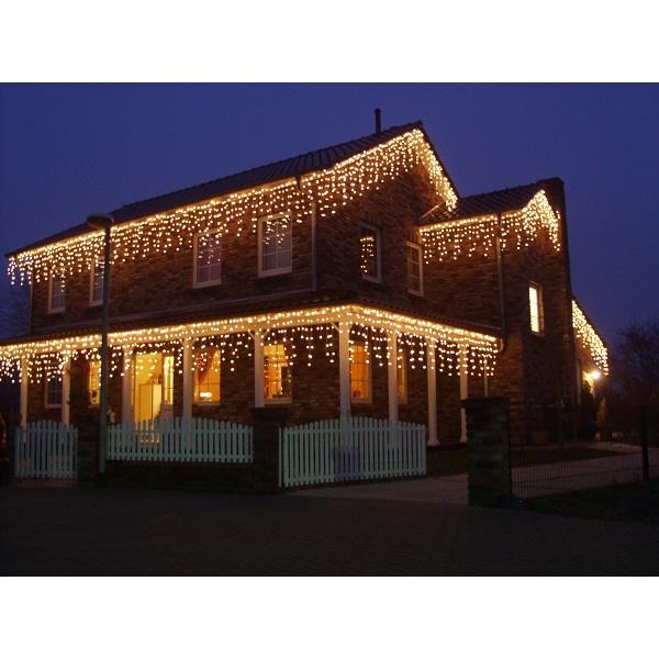 Eisregen Lichterkette 400er Minibirnen 10m außen Konstsmide 2726-002