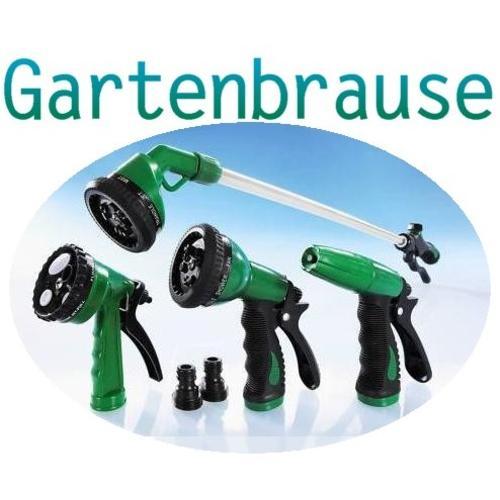 4er Profi Gießset Gartenbrause Sprühpistole Spritze