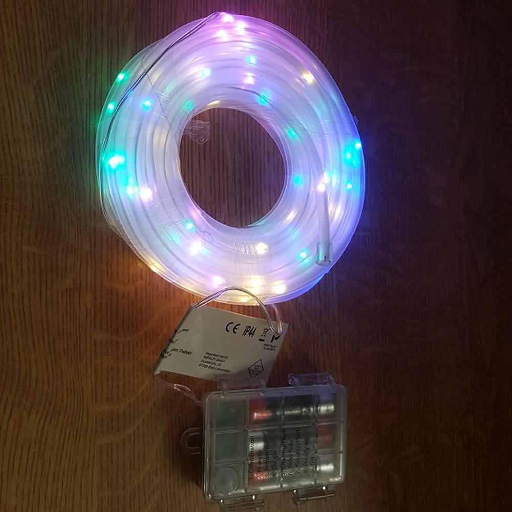 led mini lichtschlauch 10m 5mm bunt timer batterie fernbedienung au en ba11265 ebay. Black Bedroom Furniture Sets. Home Design Ideas