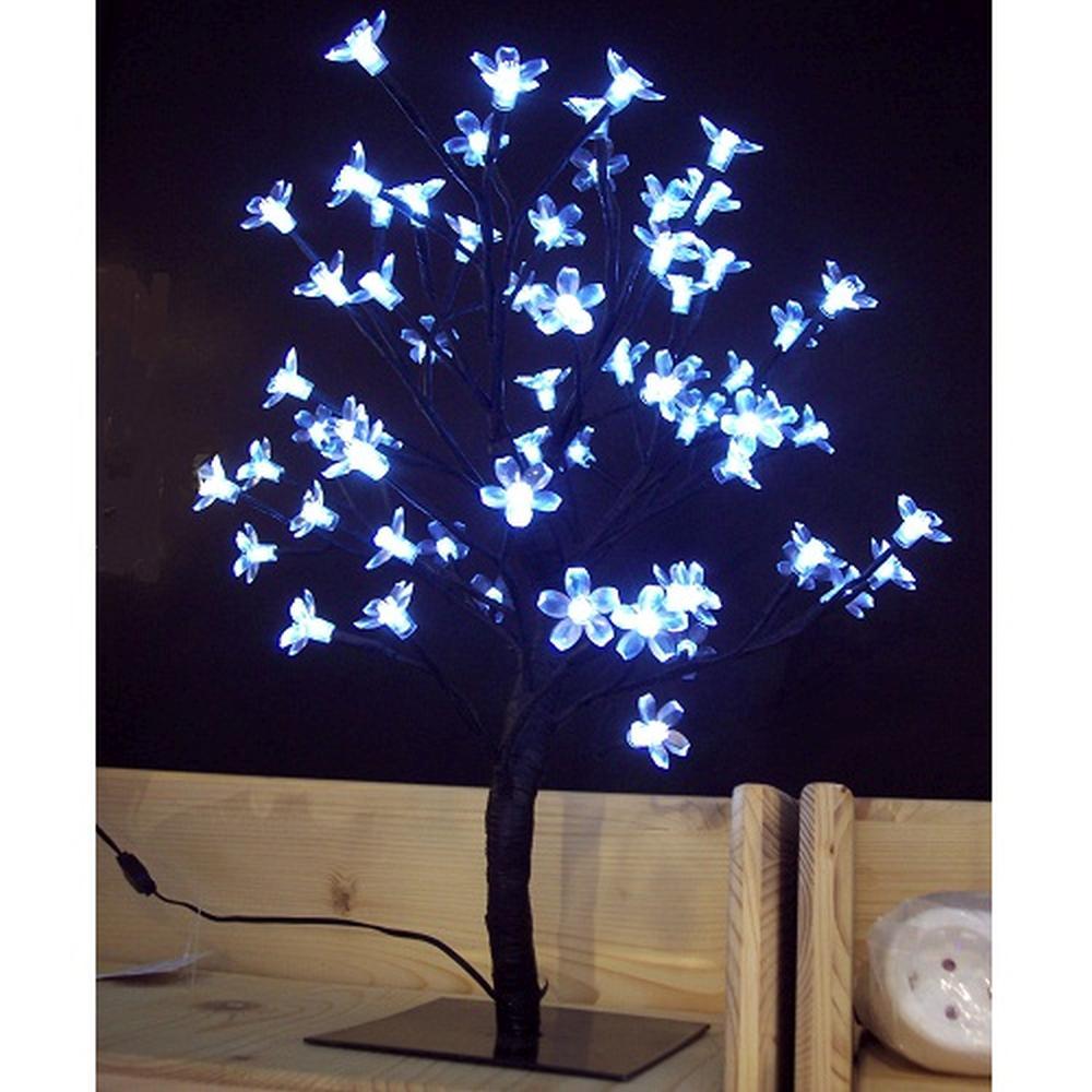 LED Lichterzweig Lichterbaum 64 Blüten kaltweiß außen BA11630