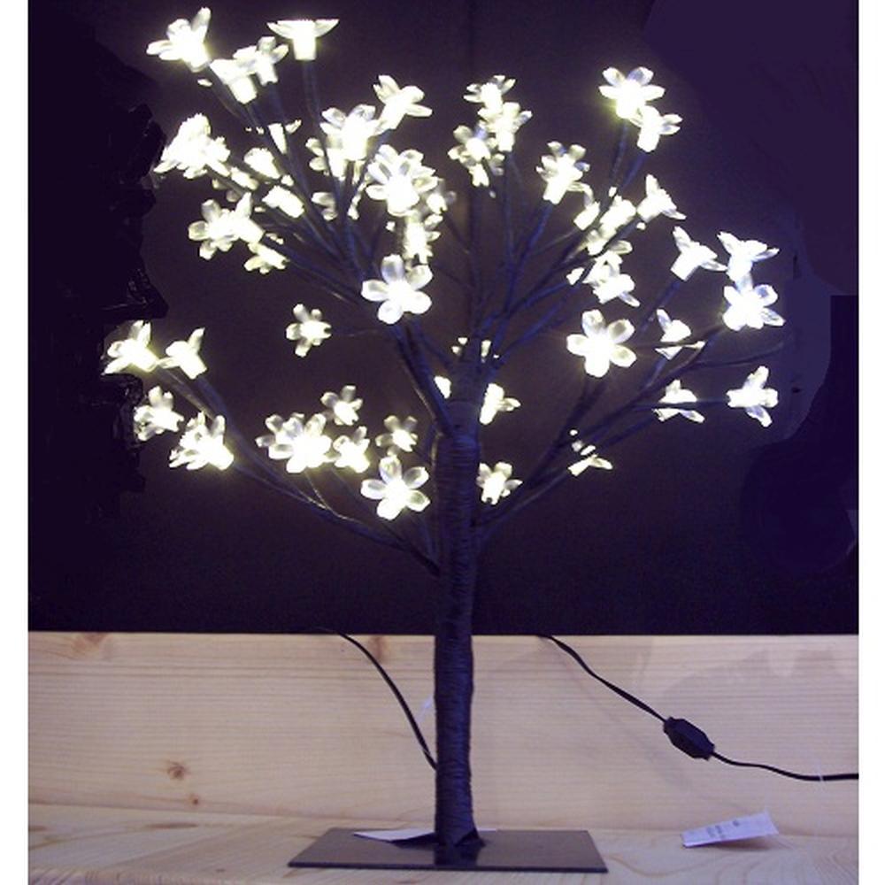 LED Lichterzweig Lichterbaum 64 Blüten warmweiß außen BA11632