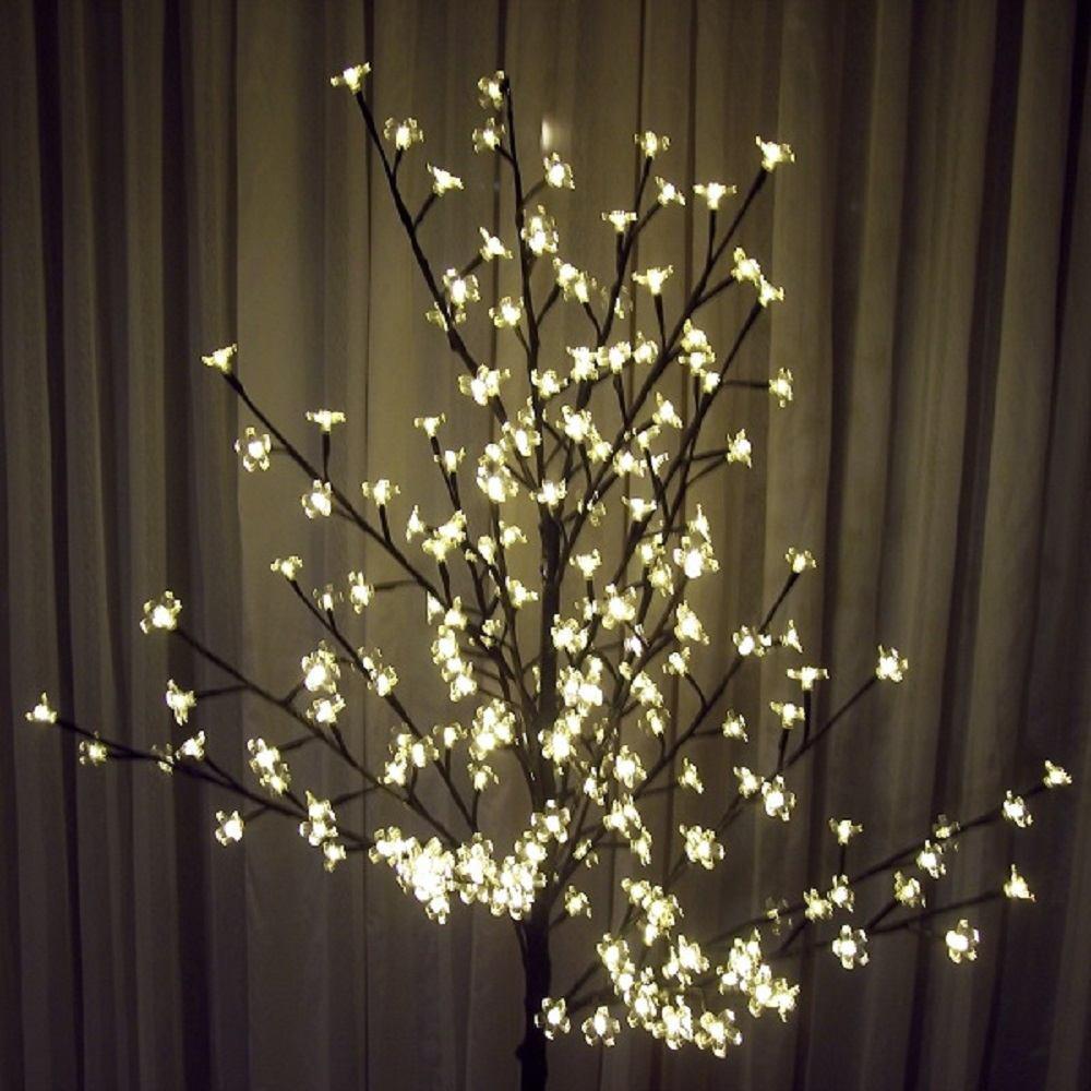 LED Lichterzweig Lichterbaum 200 Blüten 150cm warmweiß BA11639