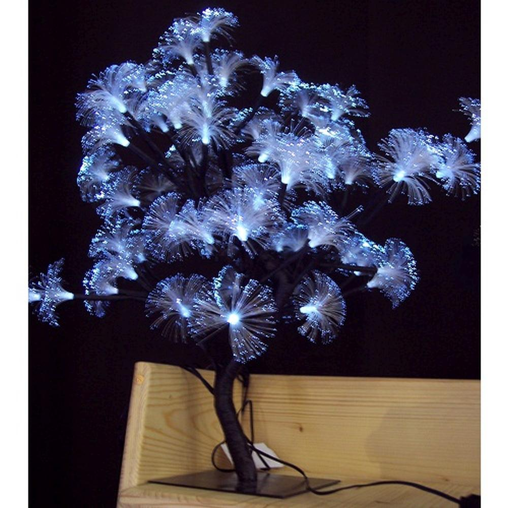 LED Fiberoptik Lichterbaum Lichterzweig 64er kaltweiß BA11642 innen / außen